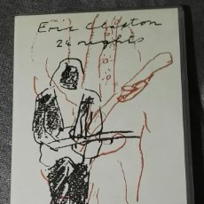 Vídeos y DVD Musicales: ERIC CLAPTON 24 NIGHTS VHS. Lote 131125276