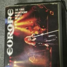 Vídeos y DVD Musicales: EUROPE THE FINAL COUNTDOWN TOUR VHS. Lote 131125348