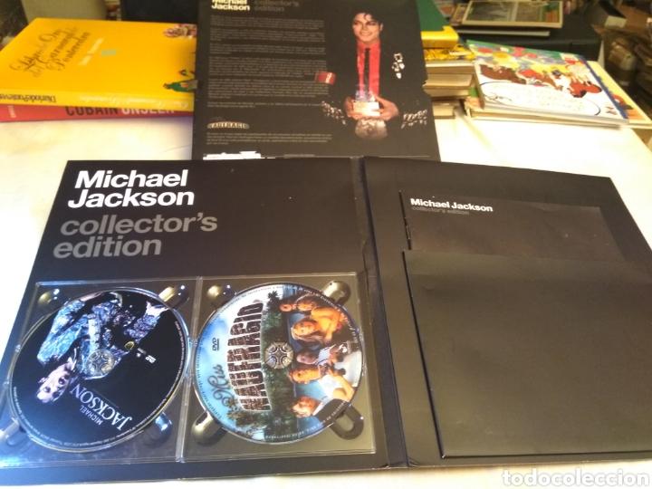 Vídeos y DVD Musicales: Michael Jackson 2 Dvds Collector Edition Miss Naufragio - Foto 2 - 131663233