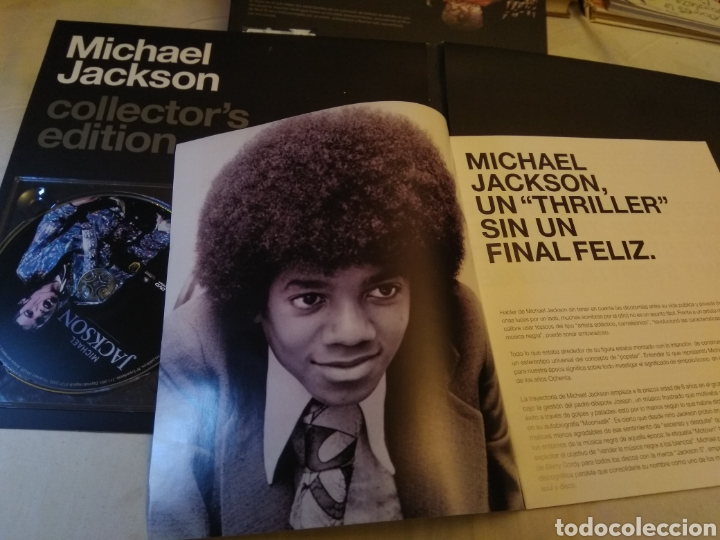 Vídeos y DVD Musicales: Michael Jackson 2 Dvds Collector Edition Miss Naufragio - Foto 3 - 131663233
