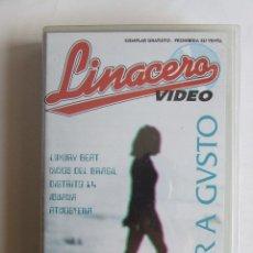 Vídeos y DVD Musicales: VHS NUEVO CESAR A GUSTO VIDEOCLIPS ENCONTRADOS ZARAGOZA NIÑOS DEL BRASIL DISTRITO 14 LUXURY BEAT. Lote 133086915