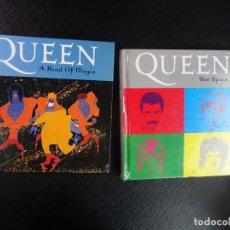 Vídeos y DVD Musicales: LOTE DE 2 LIBROS-CD DE QUEEN, VER FOTOS. Lote 132195246