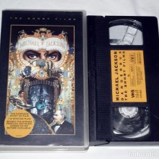 Vídeos y DVD Musicales: VHS MICHAEL JACKSON - DANGEROUS (THE SHORT FILMS). Lote 132414682
