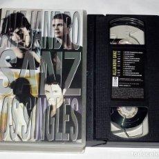 Vídeos y DVD Musicales: VHS ALEJANDRO SANZ - LOS SINGLES. Lote 132415190