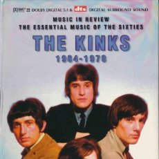 Vídeos y DVD Musicales: THE KINKS 1964-1978 (AN INDEPENDENT CRITICAL REVIEW) 2 DVD MAS LIBRO. Lote 132428702