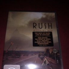 Vídeos y DVD Musicales: DVD RUSH WORKING MEN PRECINTADO. Lote 132445182