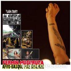 Vídeos y DVD Musicales: FERMIN MUGURUZA - AFRO-BASQUE FIRE BRIGADE - TOUR 2007 - DVD - DVD (REG 2). Lote 133128411