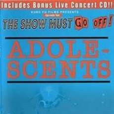 Vídeos y DVD Musicales: ADOLESCENTS - LIVE AT THE HOUSE OF BLUES - THE SHOW MUST GO OFF! 10 - DVD (REG 2). Lote 133132606