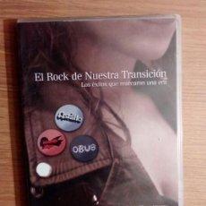 Vídeos y DVD Musicales: DVD: EL ROCK DE NUESTRA TRANSICION - BARON ROJO, OBUS, ASFALTO *IMPECABLE*. Lote 133133494