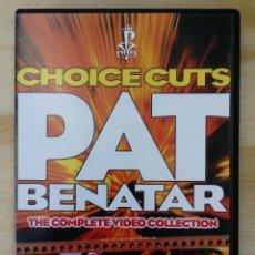 Vídeos y DVD Musicales: PAT BENATAR: CHOICE CUTS COMPLETE VIDEO COLLECTION *IMPECABLE COMO NUEVO. Lote 133134290