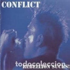 Vídeos y DVD Musicales: CONFLICT - REBELLION SUCKS - ANTHOLOGY CD + LIVE IN LONDON 2004 DVD - DVD+CD. Lote 133136243