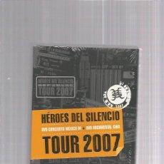 Vídeos y DVD Musicales: HEROES DEL SILENCIO TOUR 2007. Lote 133196862