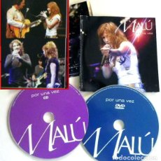 Vídeos y DVD Musicales: MALÚ POR UNA VEZ DVD + CD CONCIERTO CON ALEJANDRO SANZ ANTONIO OROZCO DAVID DEMARÍA MÚSICA POP 2004. Lote 133228210