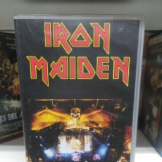 Video e DVD Musicali: IRON MAIDEN. DONINGTON LIVE. VHS.. Lote 133754683