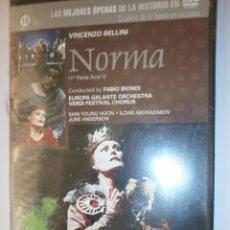 Vídeos y DVD Musicales: OPERA NORMA 1ª PARTE ACTO 1. Lote 134029534