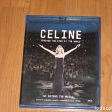 Vídeos y DVD Musicales: CELINE DIONE - THROUGH THE EYES OF THE WORLD - BLU-RAY - T - . Lote 134050818
