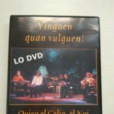 Vídeos y DVD Musicales: VINGUEN QUAN VULGUEN! DVD. Lote 134063245