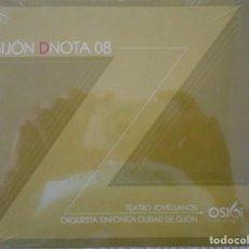 Vídeos y DVD Musicales: GIJON DNOTA 08. TEATRO JOVELLANOS. ORQUESTA SINFONICA CIUDAD DE GIJON. DVD NUEVO A ESTRENAR.. Lote 134070482