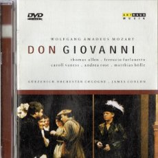 Vídeos y DVD Musicales: DON GIOVANNI WOLFGANG AMADEUS MOZART . Lote 134147482