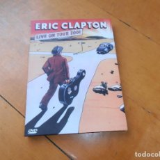 Vídeos y DVD Musicales: ERIC CLAPTON LIVE ON TOUR 2001 ONE MORE CAR ONE MORE RIDER DVD. Lote 134638806