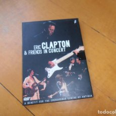 Vídeos y DVD Musicales: DVD ERIC CLAPTON - FRIENDS IN CONCERT. Lote 134643750