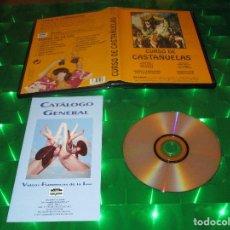 Vídeos y DVD Musicales: CURSO DE CASTAÑUELAS - DVD - MANUEL BADILLO - MIGUEL RIVERA - RAFAEL FAJARDO - PILAR P. GUZMAN. Lote 134779214