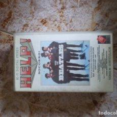 Vídeos y DVD Musicales: VHS THE BEATLES. SOCORRO. Lote 135404670