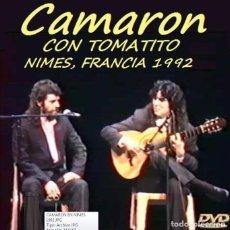 Vídeos e DVD Musicais: CAMARON CON TOMATITO, CONCIERTO EN NIMES, FRANCIA 1992. Lote 196446765