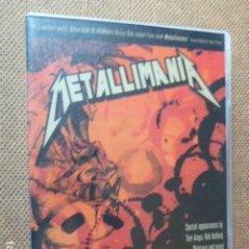 Vídeos y DVD Musicales: METALLIMANIA. DVD. EN INGLES. REGION 0. NTSC.. Lote 135760646
