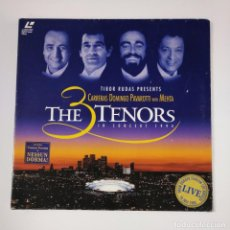 Vídeos y DVD Musicales: THE 3 THREE TENORS. IN CONCERT 1994. CARRERAS. DOMINGO. PAVAROTTI. LASER DISC. LASERDISC. TDKDA42. Lote 136051254