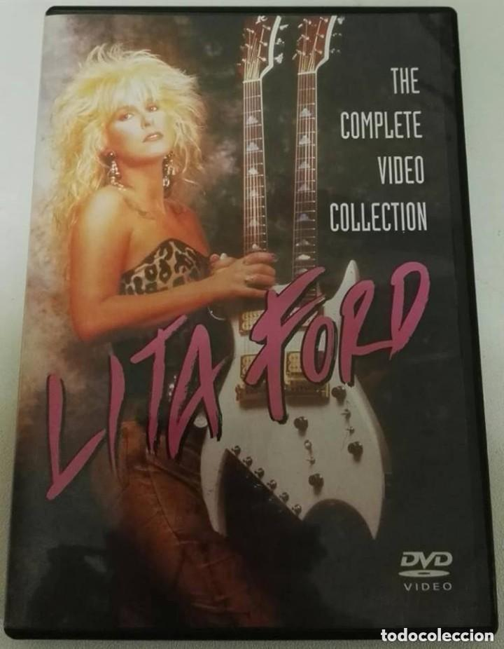 LITA FORD COMPLETE VIDEO COLLECTION DVD (Música - Videos y DVD Musicales)