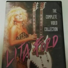 Vídeos y DVD Musicales: LITA FORD COMPLETE VIDEO COLLECTION DVD. Lote 136154018