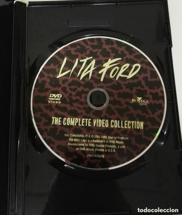 Vídeos y DVD Musicales: Lita ford complete video collection dvd - Foto 3 - 136154018
