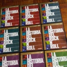 Vídeos y DVD Musicales: LOTE COMPLETO 10 DVD'S LA HISTORIA DEL ROCK & ROLL. Lote 136911142
