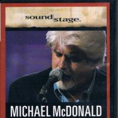 Vídeos y DVD Musicales: MICHAEL MC DONALD LIVE DVD / VER EXPLICACIÓN. Lote 137459054