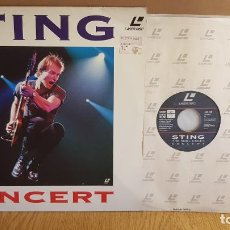 Vídeos y DVD Musicales: STING / LASERDISC / THE SOUL CAGES - CONCERT / LD - A&M VIDEO - 1991 / SIN COMPROBAR. Lote 137608214