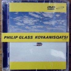 Vídeos y DVD Musicales: DVD AUDIO - PHILIP GLASS - KOYAANISQATSI - 2001 - PRECINTADO - BANDA SONORA, BSO. Lote 137652854