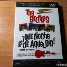 Vídeos y DVD Musicales: THE BEATLES QUÉ NOCHE LA DE AQUEL DÍA 2 DVDS. Lote 137710270