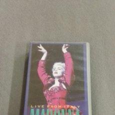Vídeos y DVD Musicales: VHS. MADONNA CIAO ITALIA. Lote 137845020