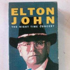Vídeos y DVD Musicales: CINTA DE VHS. MITICA COLECCION VIDEO ROCK SALVAT. ELTON JOHN. Lote 137979706