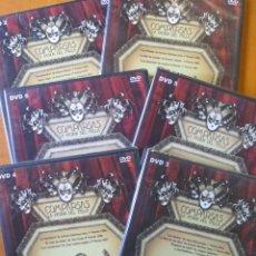 Vídeos y DVD Musicales: COMPARSAS LA PASION DEL FALLA (6 DVDS) (CARNAVAL DE CADIZ). Lote 137998458