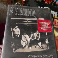 Vidéos y DVD Musicaux: DVDS METALLICA – CUNNING STUNTS – CON LIBRETO – THRASH METAL. MÁS CARTERA DEL GRUPO METALICA. Lote 138267582