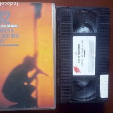 "Vídeos y DVD Musicales: U2 - LIVE AT RED ROCKS, ""UNDER A BLOOD RED SKY"", VHS //// ROCK CRUSADE / RATTLE HUM / ZOO / VERTIGO. Lote 138689338"