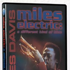 Vídeos y DVD Musicales: DAVIS, MILES: MILES ELECTRIC. A DIFFERENT KIND OF BLUE (EAGLE ROCK ENTERTAINMENT) (CB). Lote 138910886