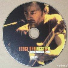 Vídeos y DVD Musicales: DVD RARO Y MUY ESCASO BRUCE SPRINGSTEEN DIGITAL PROGRAM 2003 8 DIRECTOS 14 VIDEOCLIPS ENTREVISTA Y+. Lote 138923654