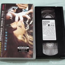 Vídeos y DVD Musicales: VHS MADONNA - DROWNED WORLD TOUR 2001. Lote 138952242