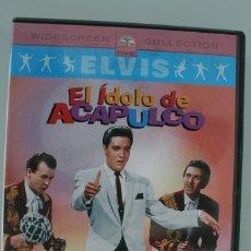 Vidéos y DVD Musicaux: DVD MUSICAL ELVIS EL IDOLO DE ACAPULCO – VER TITULOS TEMAS EN FOTOGRAFIA ADICIONAL. Lote 139197638