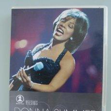 Vídeos y DVD Musicales: DVD MUSICAL DONNA SUMMER LIVE & MORE ENCORE – VER TITULOS TEMAS EN FOTOGRAFIA ADICIONAL. Lote 139356854
