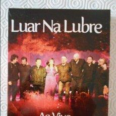 Vídeos y DVD Musicales: LUAR NA LUBRE. AO VIVO. TEATRO COLON. A CORUÑA. DOBLE CD Y DVD- WARNER.. Lote 140143726