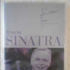 Vídeos y DVD Musicales: FRANK SINATRA. SINATRA IN JAPAN. LIVE AT THE BUDOKAN HALL. TOKYO. DVD. 19 TEMAS.. Lote 140145986